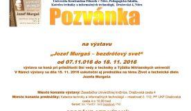 """Pozvánka na výstavu """"Jozef Murgaš - bezdrôtový svet"""""""
