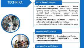 Ponuka štúdia na KTIT akademický rok 2021/2022