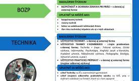 Ponuka štúdia na KTIT akademický rok 2020/201
