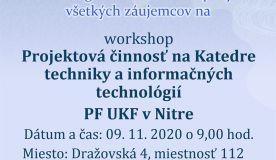Pozvánka na workshop